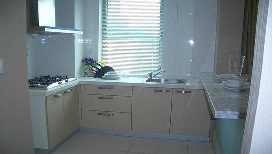 Regalia Serviced Residence: 2房的厨房
