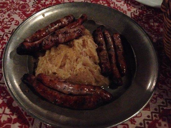 Gaststatte Nurnberger Bratwurst Glockl am Dom: ニュルンベルガー