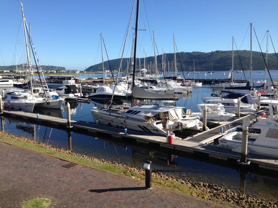 Protea Hotel by Marriott Knysna Quays: View from room 209