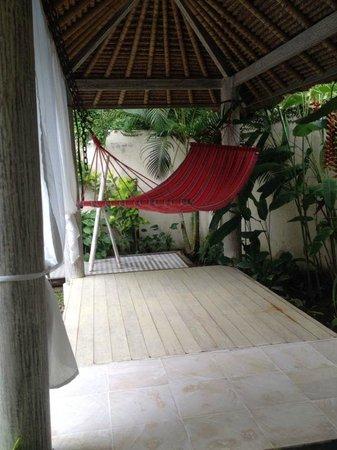 Enigma Bali Villas: hammock