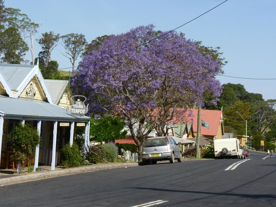 The Two Story Bed and Breakfast : Charming Tilba streetscape