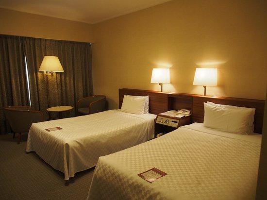 Keio Plaza Hotel Tokyo: ห้องพัก ตกแต่งเรียบๆ