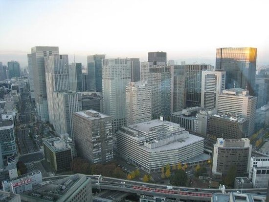 Mandarin Oriental, Tokyo: 部屋からの眺望