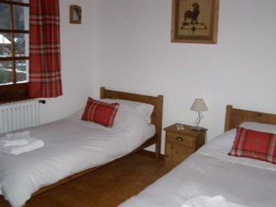 Chalet Almandine: Our bedroom!