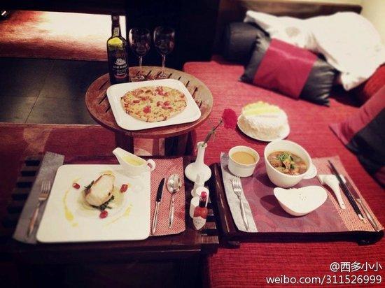 Banyan Tree Lijiang: In-Villa Dinning