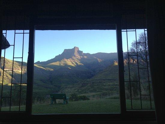 Thendele Hutted camp: Ausblick vom Schlafzimmer aus
