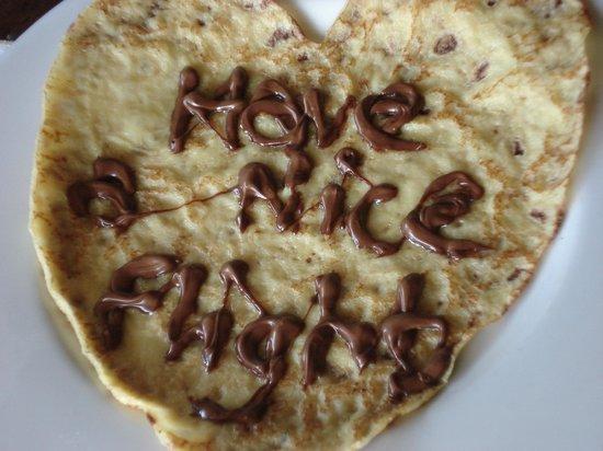 Anahita Golf & Spa Resort: From Pritvi (breakfast waiter) - THANKS