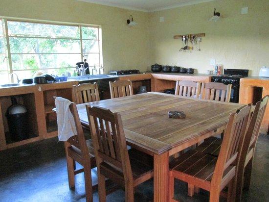Inkosana Lodge : Gemeinschaftsküche