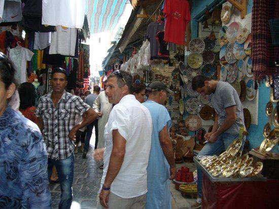 Medina of Sousse : Zatocyona ulicyka na Medinie