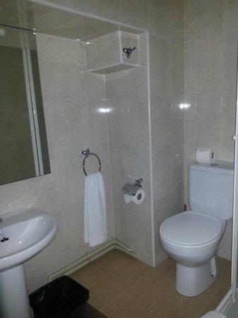 Irune Lodging & Guesthouse: baño amplio interior
