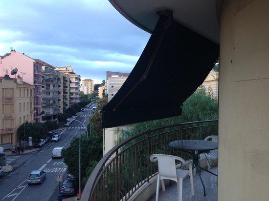 Moderne Hotel: 同じく部屋からの景色