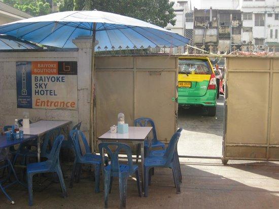 KC Place Hotel Pratunam: Shortcut to Pratunam market