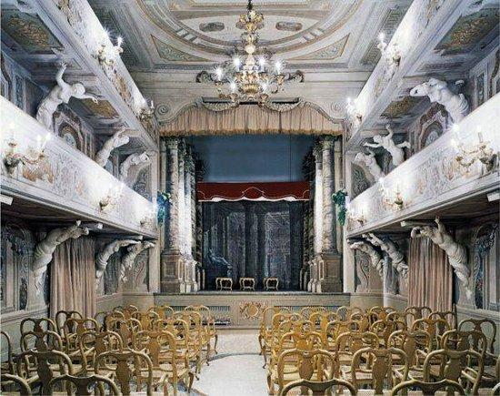 Teatro 1763 Villa Aldrovandi Mazzacorati