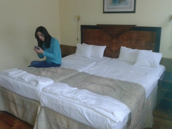 Hotel Metro: camas muy comodas