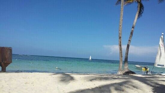 Catalonia Bavaro Beach, Casino & Golf Resort: the beach