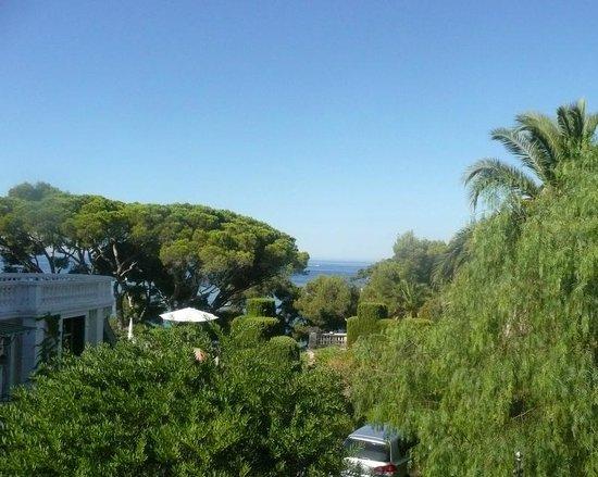 Hôtel Le Provençal : Vue sur  mer depuis la chambre
