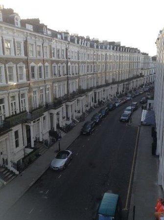 Park Grand London Kensington: view from bedroom towards Earls Court