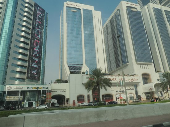 Crowne Plaza Dubai: Exterior Looks