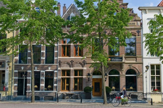 Grand Boutique Hotel Huis Vermeer: Voorzijde Hotel