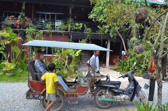 Angkor Hotel: Наш тук-туке на нем мы передвигались по храмовому комплексу за $15 в день