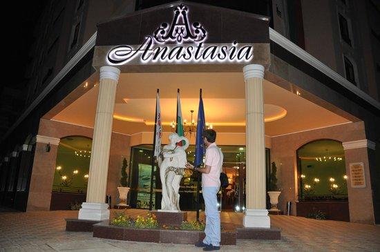 Anastasia Residence - Hotel Apartments - The entrance