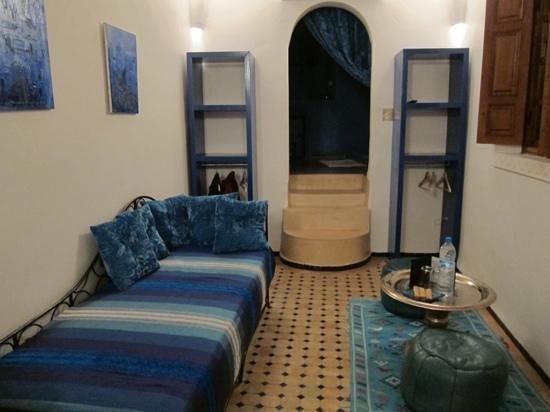 Dar Faracha Fès: Habitación azul
