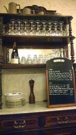 La Royale : No set menu - changes daily