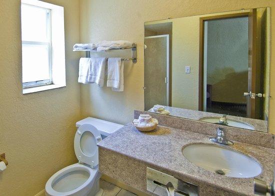 Gainesville Lodge : Bathroom Amenities