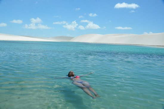 Bonita and Azul lakes: Lagoa Azul