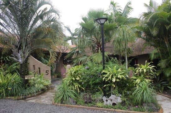 Afrikhaya Guest House: Rezeptionseingang