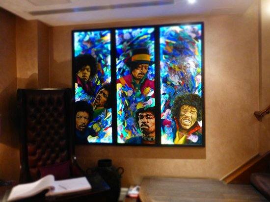 Sanctum Soho Hotel: Rocketematikk overalt