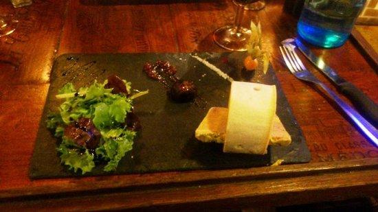La Dame de Canton: Foie gras
