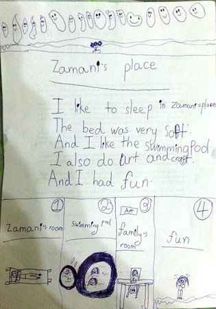 Zamani's Place: Review from Hazel - almost 6 years old