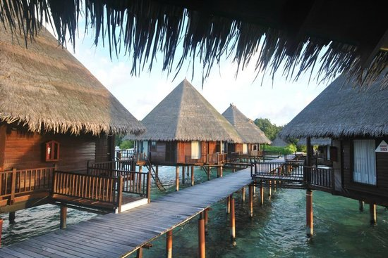 Velidhu Island Resort : water villa