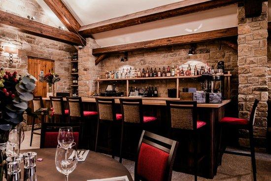 The Angel Inn: Bar in the Restaurant