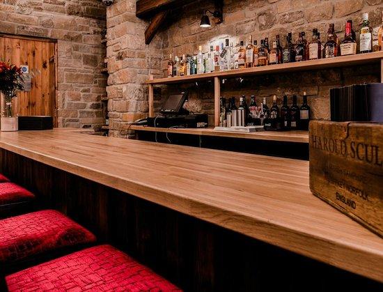 The Angel Inn: The Barn bar