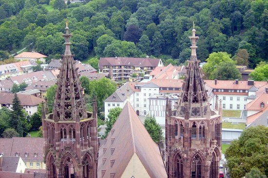 Freiburg Cathedral : dal campanile