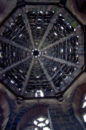 Freiburg Cathedral : ottagono nella torre