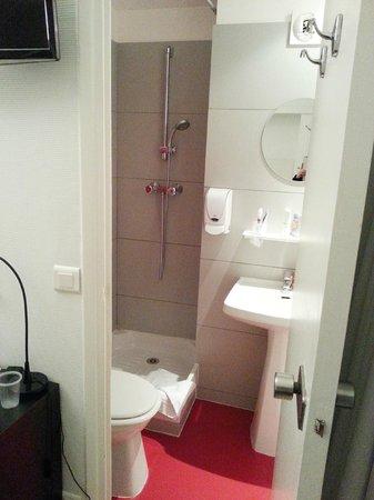 Hotel Lecourbe: bagno