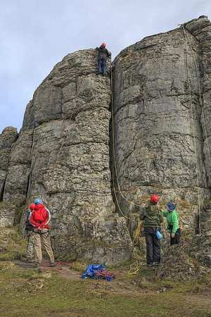 Nevsail Watersports : Outdoor Rock Climbing