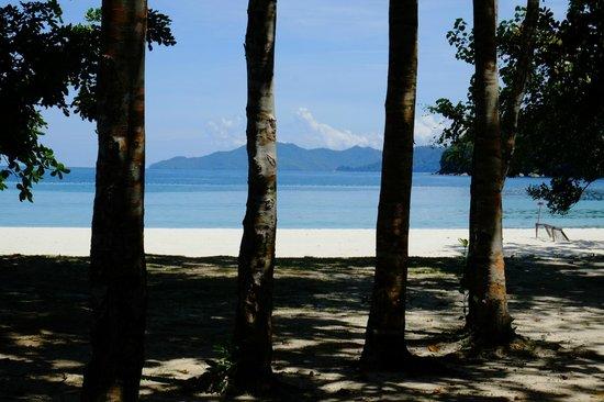 Bunga Raya Island Resort & Spa: View from beach villa