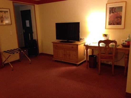 Park Inn by Radisson Uno City Vienna: TV plasma y con varios canales en ingles.