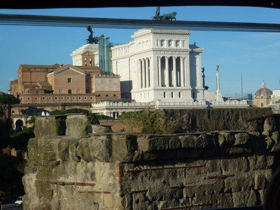 Hotel Forum Roma: colazione con vista