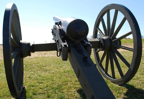 Antietam National Battlefield: The cannons are silent now