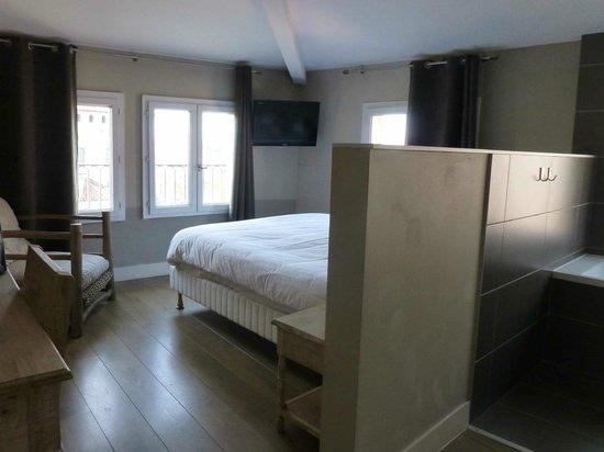 Hotel Saint Sernin: la chambre