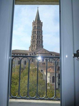 Hotel Saint Sernin: La vue depuis la chambre