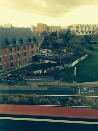 Hotel Lille Europe: The view