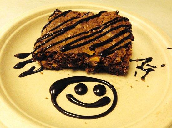 Hamburgueseria Fray Juan Casco Antiguo: Happy Brownie :)