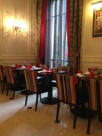 Hotel Regent's Garden : breakfast room