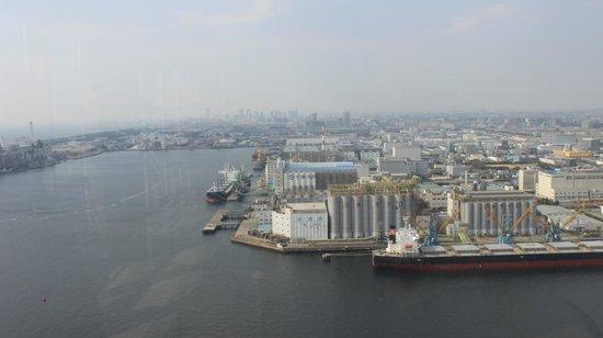Chiba Port Tower: Вид на порт Чибо
